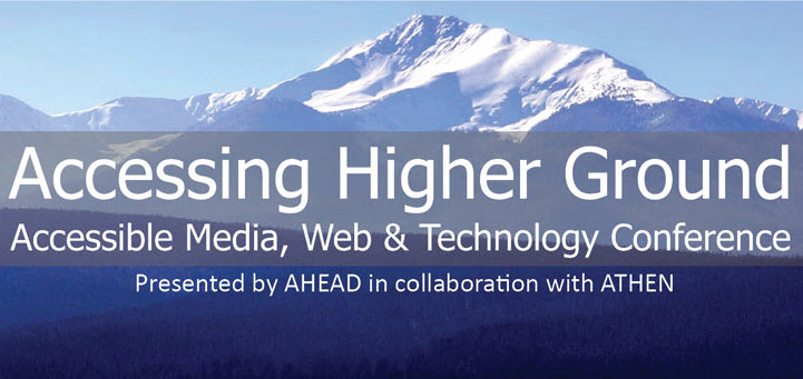 Accessing Higher Ground Virtual Conference 2019—you're invited!